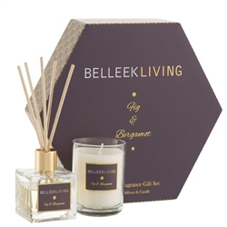 Belleek Living Fig & Bergamot Gift Set