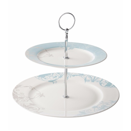 Belleek Living Novello 2-Tier Server  - Click to view a larger image