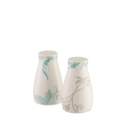 Belleek Living Novello Salt and Pepper Shakers  - Click to view a larger image