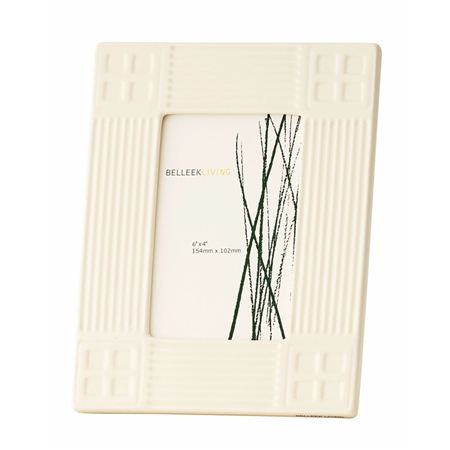 Belleek Living Inspired 4 x 6 Frame  - Click to view a larger image