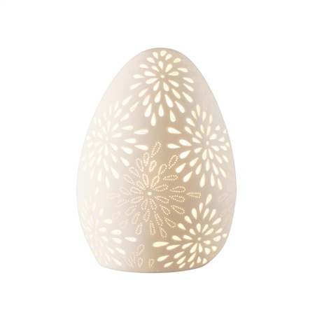 Belleek Living Floral Shape Luminaire  - Click to view a larger image
