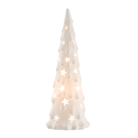Belleek Living Christmas Tree Luminaire  - Click to view a larger image
