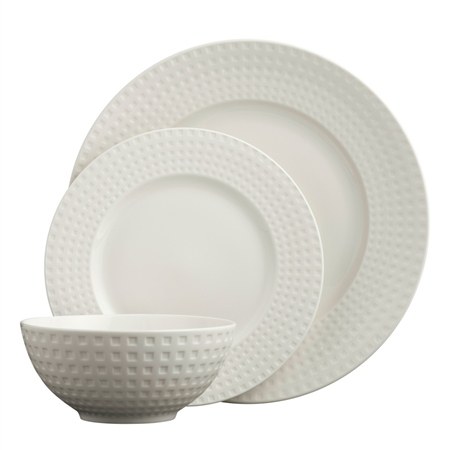 Belleek Living Grafton 12 Piece Dinnerware Set  - Click to view a larger image