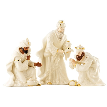 Belleek Living Three Kings Set  - Click to view a larger image