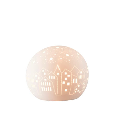 Belleek Living City Scape Luminaire  - Click to view a larger image