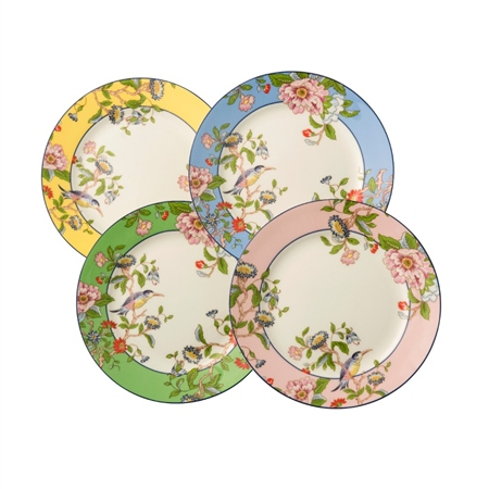 Aynsley Pembroke Set 4 Plates   - Click to view a larger image