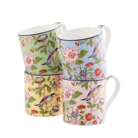 Aynsley Pembroke Windsor Mugs Set  - Click to view a larger image