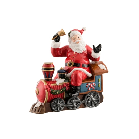 Aynsley Santa On The Train  - Click to view a larger image