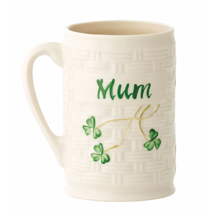 "Belleek Classic ""Mum"" Mug   - Click to view a larger image"