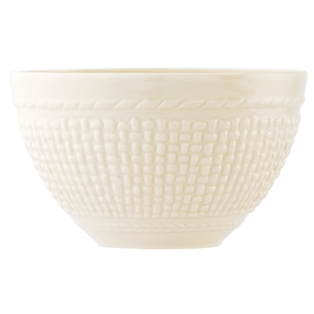 Belleek Classic GALWAY WEAVE CEREAL BOWL   - Click to view a larger image