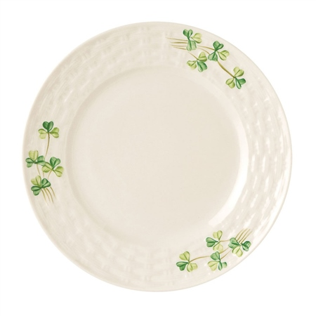 Belleek Classic Shamrock Side Plate  - Click to view a larger image