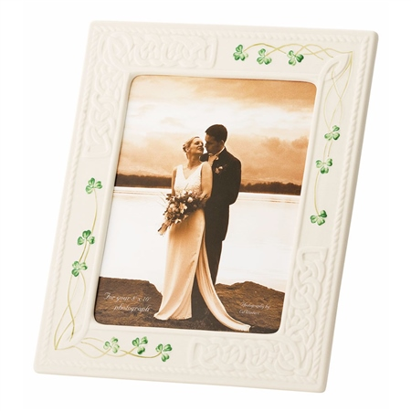 Belleek Classic Tara 8x10 Frame  - Click to view a larger image