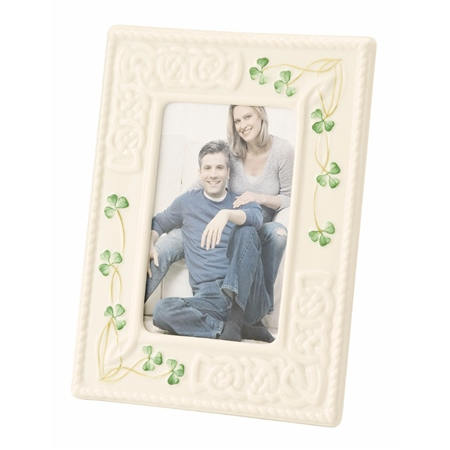Belleek Classic Tara 4x6 Frame  - Click to view a larger image