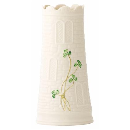 Belleek Classic Castle Vase Belleek