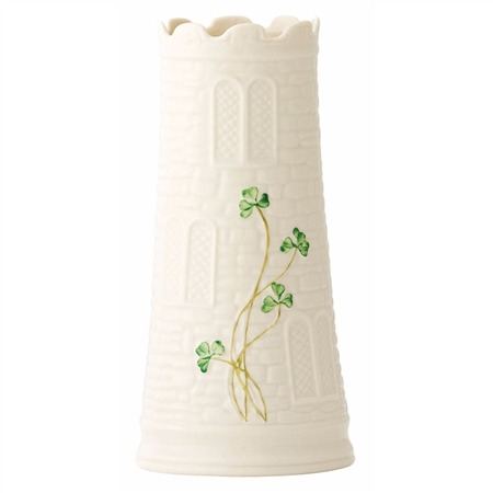 Belleek Classic Castle Vase  - Click to view a larger image