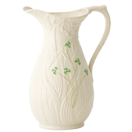 Belleek Classic Daisy Pitcher  - Click to view a larger image