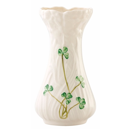 Belleek Classic Daisy Toy Spill Vase  - Click to view a larger image