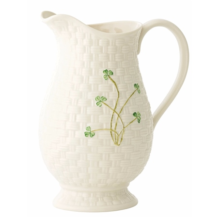 Belleek Classic Kylemore Pitcher  - Click to view a larger image