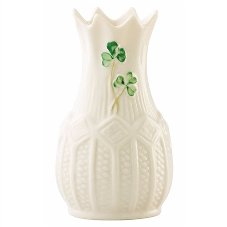 Belleek Classic Mini Cashel Vase  - Click to view a larger image