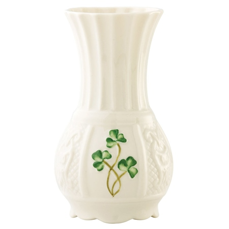 Belleek Classic Nadine Spill Vase Belleek Classic Handcrafted Nadine Spill Mini Vase - Click to view a larger image