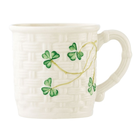 Belleek Classic Shamrock Baby Cup  - Click to view a larger image