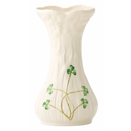 Belleek Classic Daisy Spill Vase  - Click to view a larger image