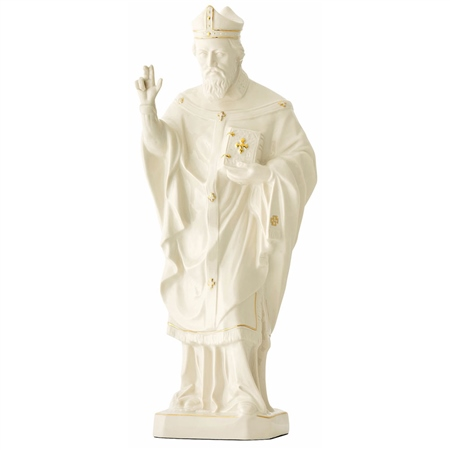 Belleek Classic St Patricks Figurine  - Click to view a larger image