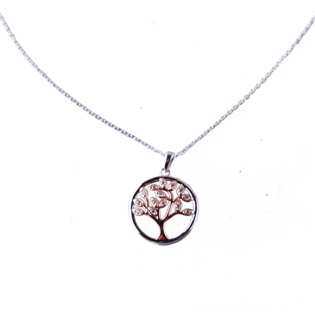 Designer Jewellery TREE OF LIFE NECKLACE  - Click to view a larger image