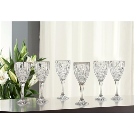 Galway Crystal ABBEY GOBLET SET   - Click to view a larger image
