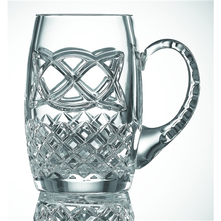 Galway Crystal CELTIC BEER TANKARD  - Click to view a larger image