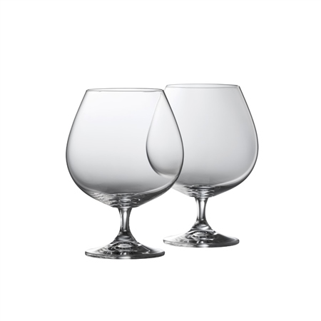 Galway Living Elegance Balloon Brandy Pair  - Click to view a larger image