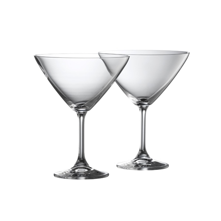 Galway Living CLARITY MARTINI PAIR  - Click to view a larger image