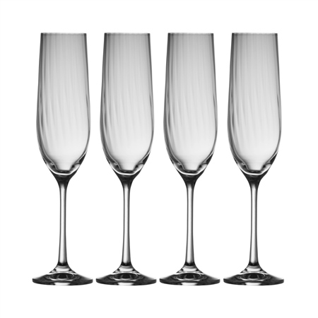 Galway Living Erne Champagne Flute Set  - Click to view a larger image