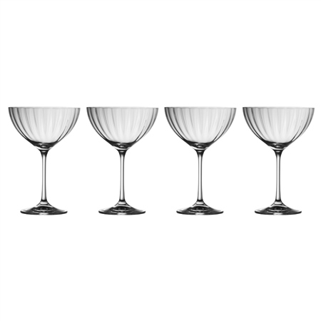 Galway Living Erne Champagne Saucer Set  - Click to view a larger image