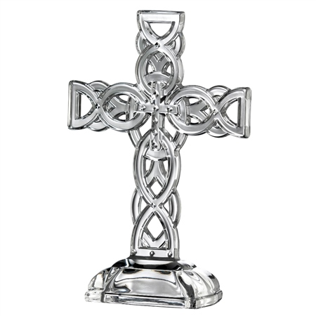 Galway Crystal GALWAY CELTIC CROSS  - Click to view a larger image