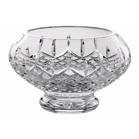 """Galway Crystal Longford 10"""" Footed Bowl  - Click to view a larger image"""