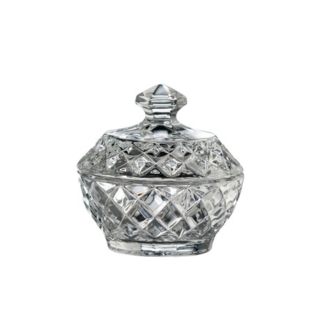 Galway Crystal Ashford Trinket box  - Click to view a larger image