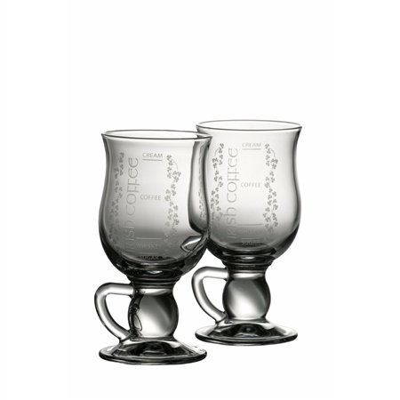 Galway Crystal IRISH COFFEE PAIR  - Click to view a larger image