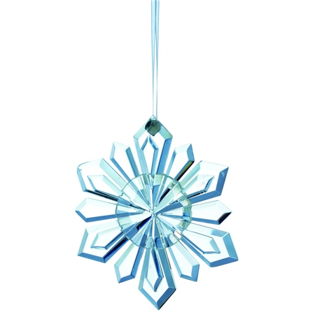 Galway Living Snowflake - Hanging Ornament  - Click to view a larger image