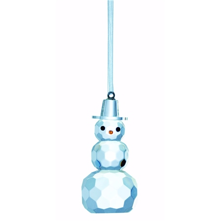 Galway Living Snowman Gem - Hanging Ornament  - Click to view a larger image
