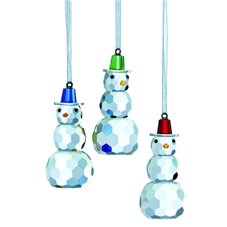 Galway Living Magical Snowman - Hanging Ornament Set  - Click to view a larger image
