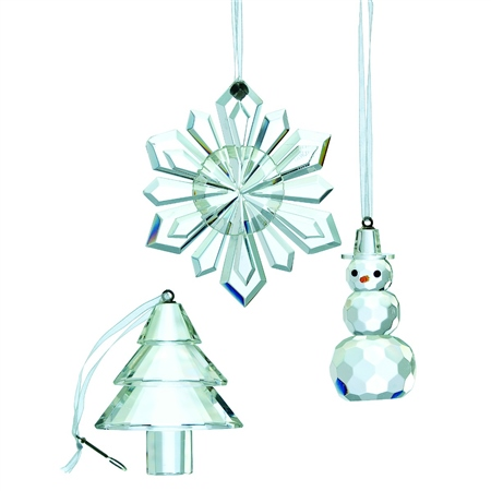 Galway Living Hanging Ornaments - Set of 3  - Click to view a larger image