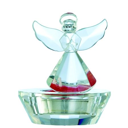 Galway Living Ice Angel - Votive Galway Living -  Angel Votive - Click to view a larger image