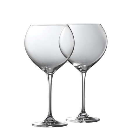 Galway Living CLARITY GOBLET PAIR  - Click to view a larger image