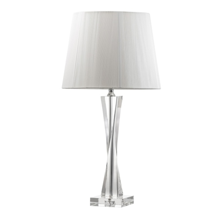 Galway Living Twist Large Lamp and Shade  - Click to view a larger image