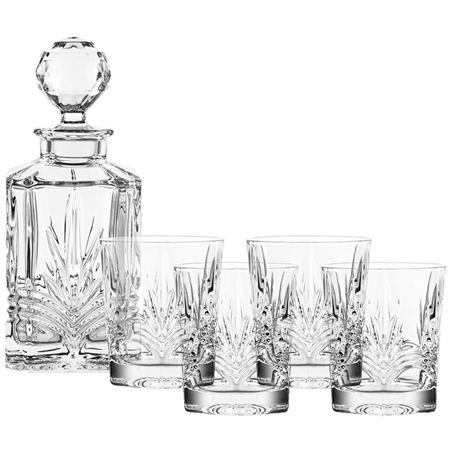 Galway Crystal KELLS DECANTER SET  - Click to view a larger image