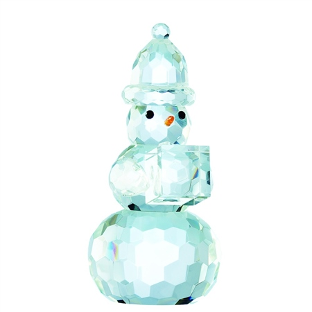 """Galway Living Gem Snowman 5.5"""" Ornament  - Click to view a larger image"""