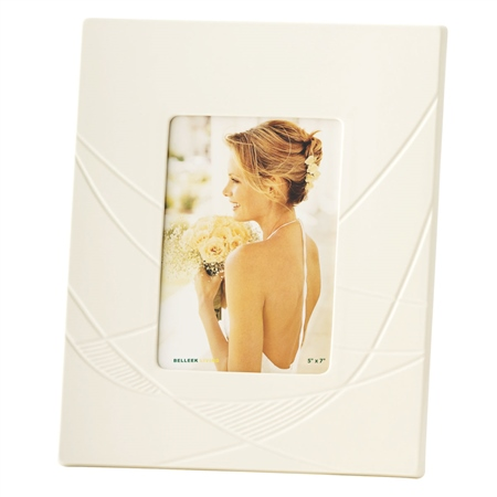 Belleek Living Eclipse 5 x 7 Frame  - Click to view a larger image