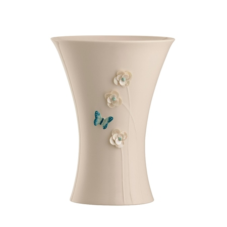 "Belleek Living Colour Collection - Azure 10"" Vase Azure Vase"