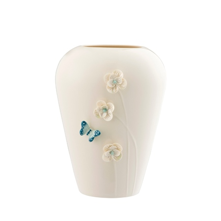 "Belleek Living Colour Collections - Azure 8"" Vase Azure - Vase - Click to view a larger image"
